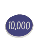 1.25 INCH BLUE 10K