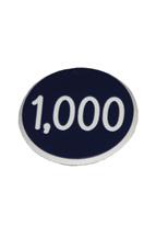 1.25 INCH BLUE 1K