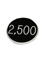 1.25 INCH BLACK 2500