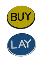 1.25 INCH YELLOW/BLUE BUY-LAY