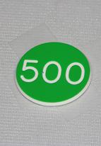 1.25 INCH GREEN 500