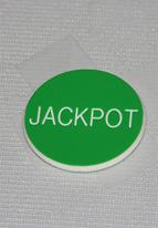 1.25 INCH GREEN JACKPOT