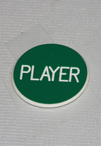 1.25 INCH GREEN PLAYER