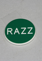1.25 INCH GREEN RAZZ
