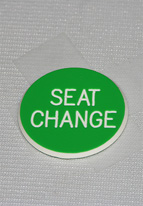 1.25 INCH GREEN SEAT CHANGE