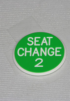 1.25 INCH GREEN SEAT CHANGE 2
