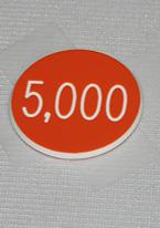 1 INCH ORANGE 5K