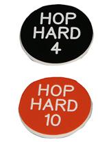1.25 INCH ORANGE/BLACK HOP HARD 10-4