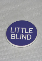 1.25 INCH PURPLE LITTLE BLIND