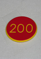 1.25 INCH RED 200