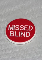 1.25 INCH RED MISSED BLIND