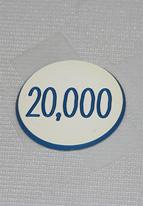 1.25 INCH WHITE 20K