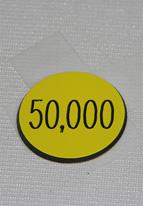 1.25 INCH YELLOW 50K