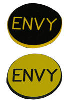 1.25 INCH YELLOW/BLACK ENVY
