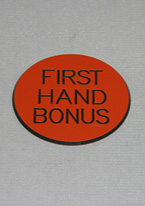 2 INCH ORANGE FIRST HAND BONUS