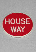 2 INCH RED HOUSE WAY