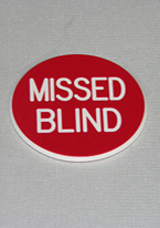2 INCH RED MISSED BLIND