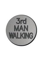 1.25 INCH 3RD MAN WALKING SILVER-GREY/BLACK