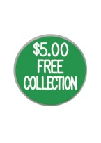 1.25 INCH $5.00 FREE COLLECTION GREEN/WHITE