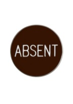 1.25 INCH ABSENT BROWN/WHITE