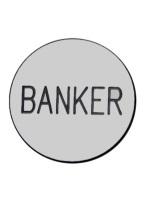 2 INCH BANKER WHITE/BLACK
