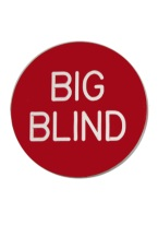 2 INCH BIG BLIND RED/WHITE