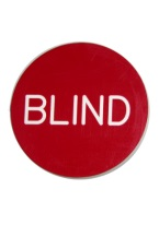 2 INCH BLIND RED/WHITE