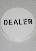 "DEALER BUTTON 3"" PUCK"