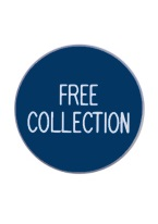 1.75 INCH FREE COLLECTION BLUE/WHITE