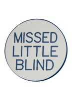 2 INCH MISSED LITTLE BLIND WHITE/BLUE