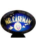 MR. CASHMAN SLOT MACHINE TOP mr cashman, slot machine, topper