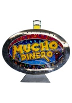 MUCHO DINERO SLOT MACHINE TOP toppers, gambling, slot machine, mucho dinero, dinero, money