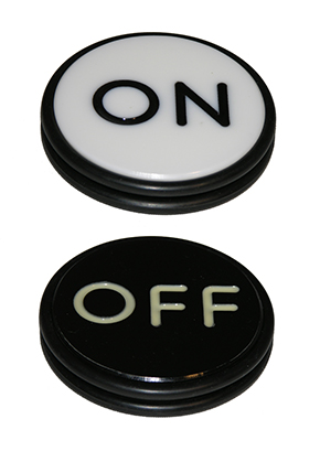 PUCK, ON/OFF