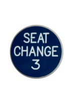 1.25 INCH SEAT CHANGE 3 BLUE/WHITE