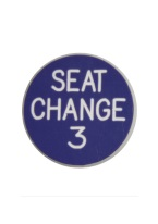 1.25 INCH SEAT CHANGE 3 PURPLE/WHITE