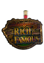 LIFESTYLE OF THE RICH AND THE FAMOUS SLOT MACHINE TOP topper, gambling, lifestyle, rich, famous