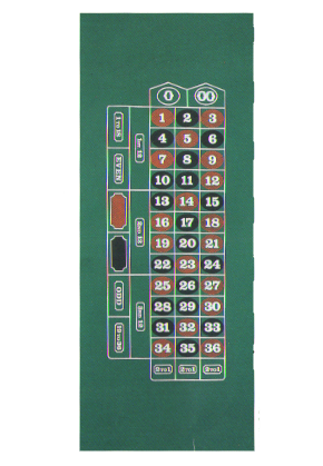 ROULETTE LAYOUT SUBLIMATION RT
