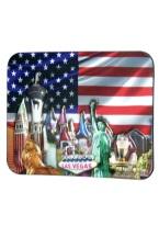 LV STRIP 3D AMERICA MAGNET magnet, las vegas, 3d,