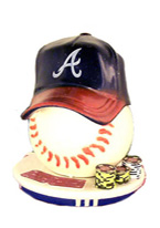 BRAVES POKER CARD PROTECTOR
