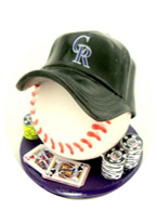 COLORADO ROCKIES CARD PROTECTOR