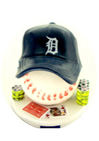 DETROIT TIGERS CARD PROTECTOR