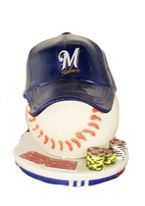 MILWAUKEE BREWERS CARD PROTECTO