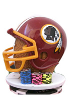 REDSKINS POKER CARD PROTECTOR