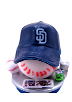 SAN DIEGO PADRES CARD PROTECTOR