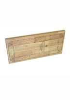 CRIBBAGE 4 TRACK WOOD