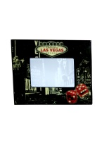OLD VEGAS PHOTO FRAME old vegas, photo frame, frame, photo, souvenirs, gamblers,