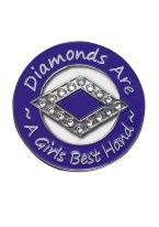 DIAMONDS ARE A GIRLS BEST FRIEND GUARD