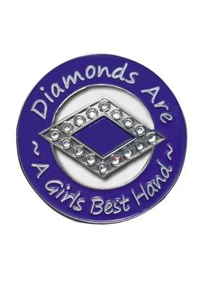 DIAMONDS ARE A GIRLS BEST FRIEND GUARD