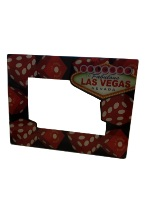 Dice-Photo Frame picture frame, photo frame, frame, las vegas souvenirs,
