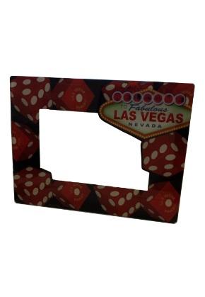 Dice Photo Frame Las Vegas Souvenirs Gamblers General Store